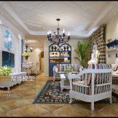 Modern Livingroom Mediterranean Interior 282(3ddanlod.ir)