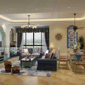 Modern Livingroom Mediterranean Interior 286(3ddanlod.ir)