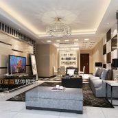 Modern Style Livingroom Interior039(3ddanlod.ir)