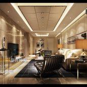 Modern Style Livingroom Interior040(3ddanlod.ir)