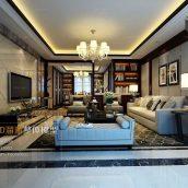 Modern Style Livingroom Interior078(3ddanlod.ir)