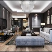 Modern Style Livingroom Interior099-1 view 2(3ddanlod.ir)