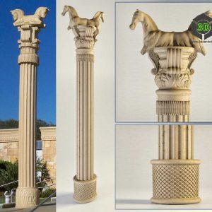 Persian Column(3ddanlod.ir) 058