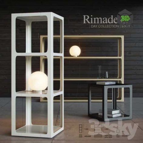 Shelving and Table Rimadesio Sixty(3ddanlod.ir) 090