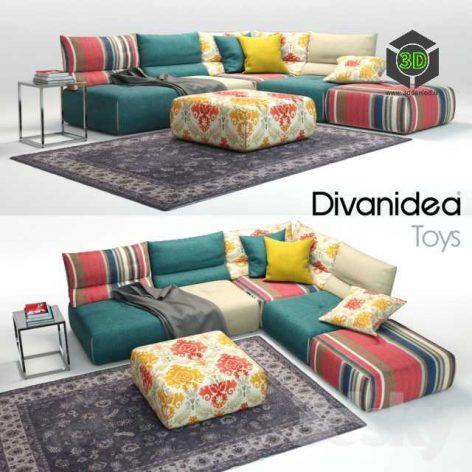 Sofa Divanidea Toys(3ddanlod.ir) 185