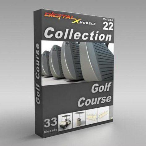 XModels_Vol_022_Golf Course (3ddanlod.ir)