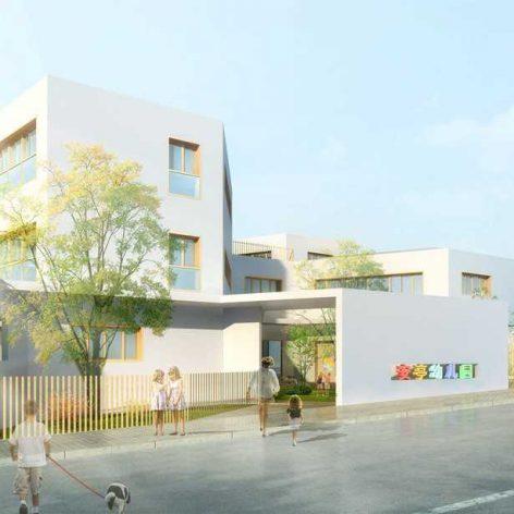 kindergarten facades(3ddanlod.ir) 016