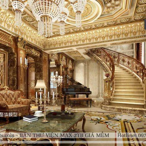 classic livingroom 002 (3ddanlod.ir)