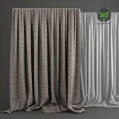 grey curtains (3ddanlod.ir)