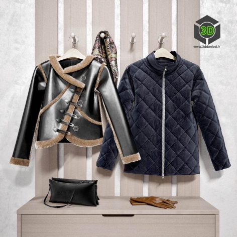 Autumn Clothes 3d model (3ddanlod.ir) 005