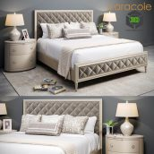 Bed Caracole Diamonds are Forever 3D Model (3ddanlod.ir) 106