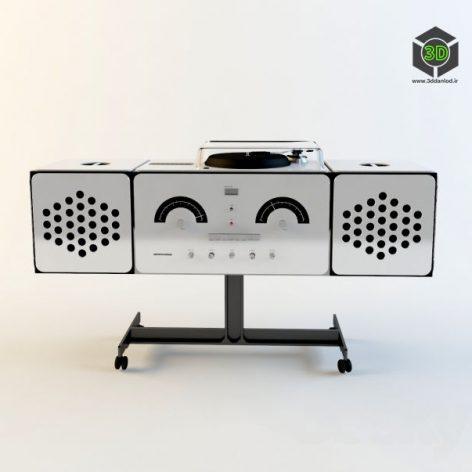 Brionvega Radio(3ddanlod.ir)