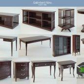 Galimberti Nino Furniture Set(3ddanlod.ir)