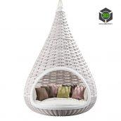 Hanging lounger Nestrest by Dedon (3ddanlod.ir) 184