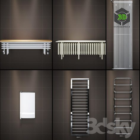 Heated Towel Rail(3ddanlod.ir) 005