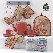 Kitchen Decoration Set1(3ddanlod.ir) 014