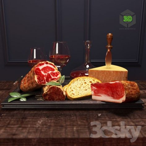Meat with Wine(3ddanlod.ir) 053