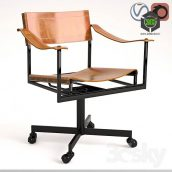 Mid Century Office Chair(3ddanlod.ir) 055