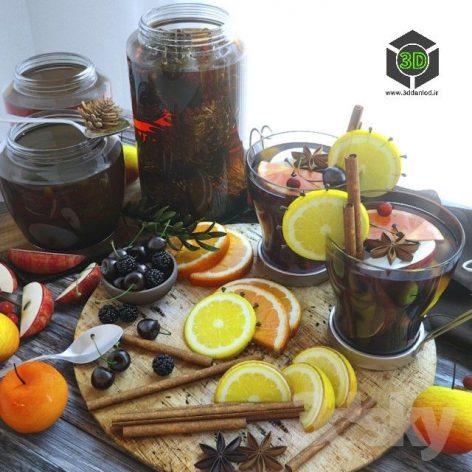 Mulled Wine with Honey(3ddanlod.ir) 075