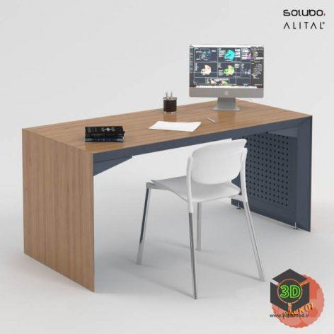 Office Desk Pack01(3ddanlod.ir)