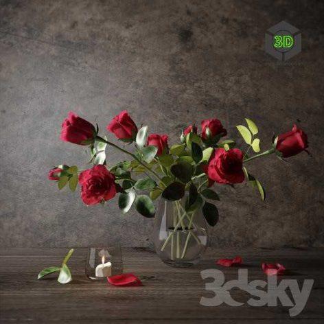 Red Roses(3ddanlod.ir) 086