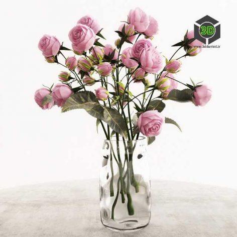 Roses Bouquet 4(3ddanlod.ir) 104