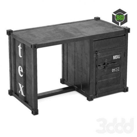 Sea Container письменный стол(3ddanlod.ir)