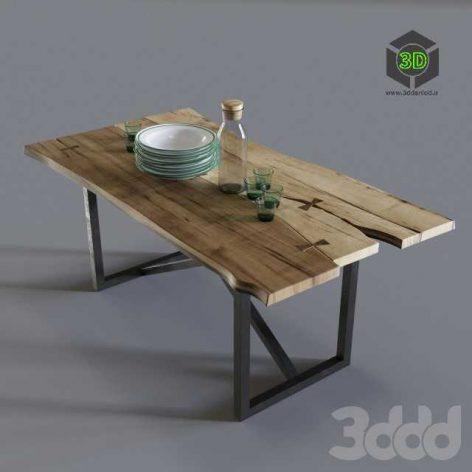 Sleb 002 table (3ddanlod.ir)