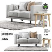 Sofa Ikea Norsborg 1(3ddanlod.ir) 128