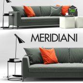 Sofa Louis Up Meridiani(3ddanlod.ir) 443