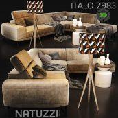 Sofa NATUZZI Italo 2983 2(3ddanlod.ir) 635