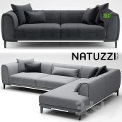 Sofa Natuzzi Trevi(3ddanlod.ir) 024