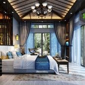 Southeast Asia Bedroom Style Interior168(3ddanlod.ir)
