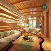 Southeast Asia Bedroom Style Interior170(3ddanlod.ir)