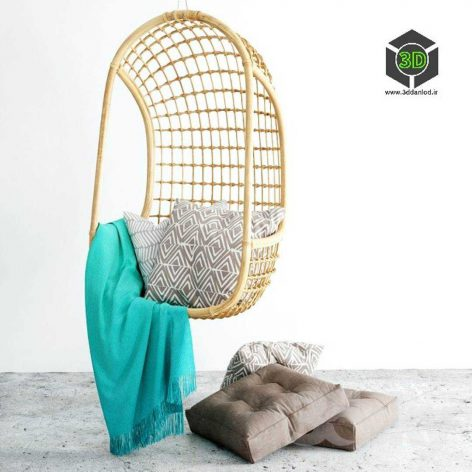 Suspended Chair(3ddanlod.ir) 103