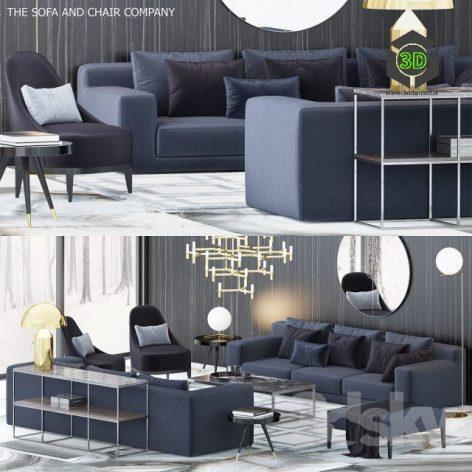 The Sofa & Chair Company Set 5(3ddanlod.ir) 078