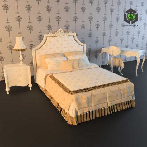 VOLPI _ Dreams And Love Bedroom (3ddanlod.ir)