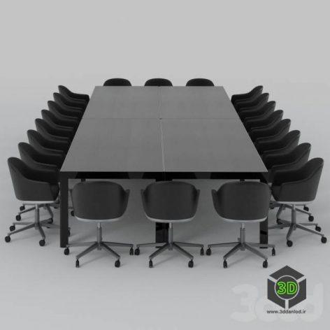Vitra Softshell Meeting Set(3ddanlod.ir)