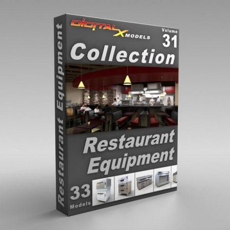 XModels_Vol_031_Restaurant_Equipment (3ddanlod.ir)