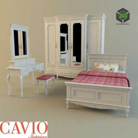 classic bed child 045 (3ddanlod.ir)