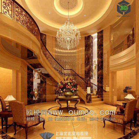 classic interior design 010 (3ddanlod.ir)