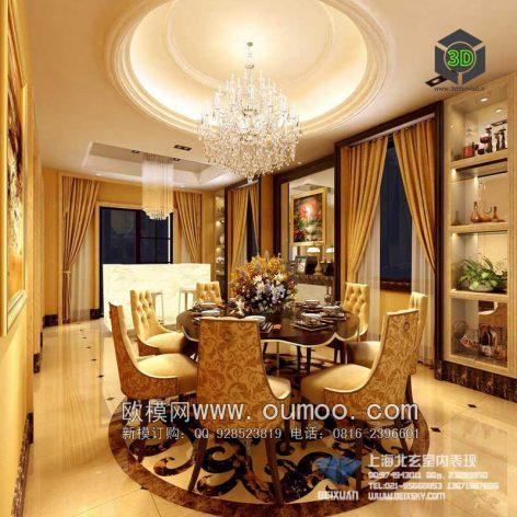 classic interior design 013 (3ddanlod.ir)