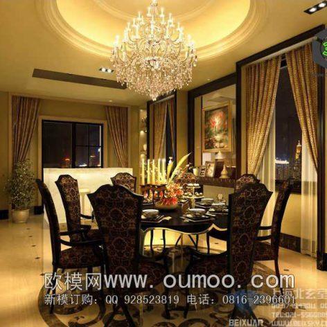 classic interior design 025 (3ddanlod.ir)