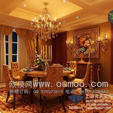 classic interior design 079 (3ddanlod.ir)