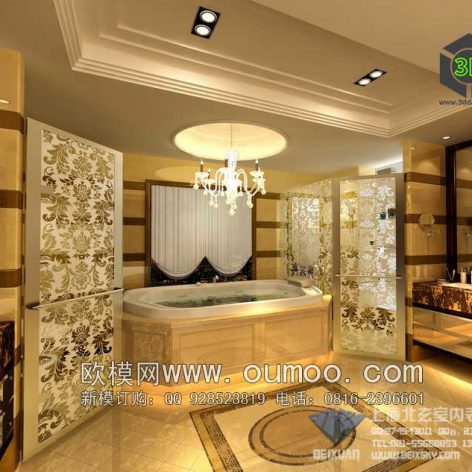 classic interior design 089 (3ddanlod.ir)