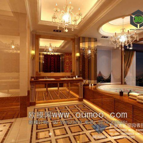classic interior design 090 (3ddanlod.ir)