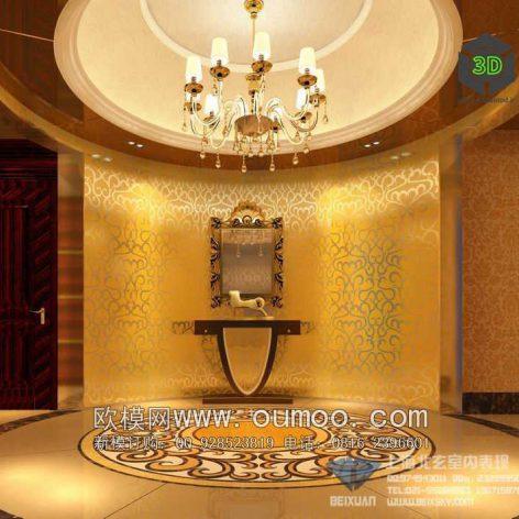classic interior design 092 (3ddanlod.ir)