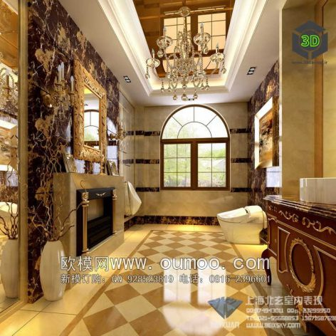 classic interior design 096 (3ddanlod.ir)