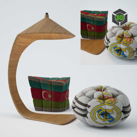 pouf furniture 008 (3ddanlod.ir)