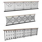 railing model 031 (3ddanlod.ir)